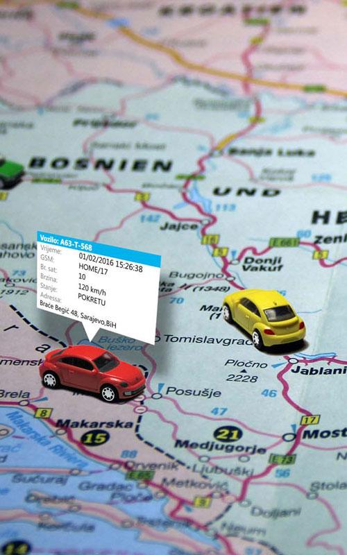 GPS praćenje vozila